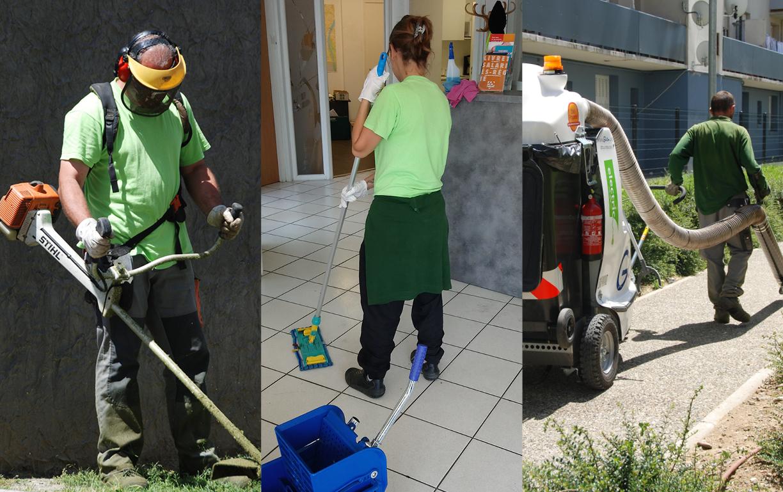 Prestations de propreté, d'espaces verts et micro-services de conciergerie pour les entreprises et les collectivités par Desbals Services à Toulouse